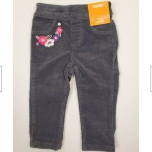 Gymboree Pull On Gray Chords Pants